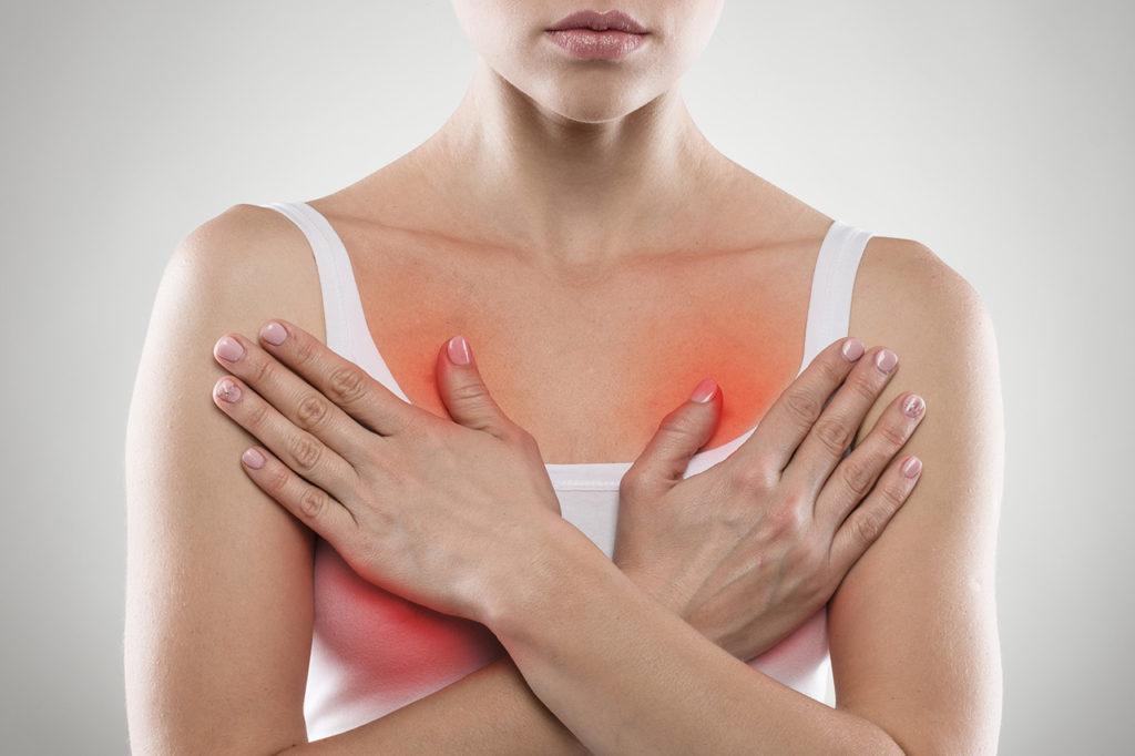 Отеки и боли после маммопластики